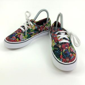 Vans Marvel Comics Sneakers Womens 6 Youth 4 EU 35